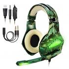 BlueFire Upgraded Professional Gaming Headset for Playstation 4, Xbox one, Laptop (Camo)