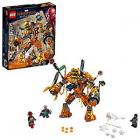 LEGO Marvel Spider-Man Far From Home: Molten Man Battle 76128 Building Kit, New 2019 (295 Piece)