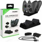 Dobe Wireless Controller Charger Stand, Dual Charging Station for Xbox One/S/X