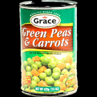 GRACE GREEN PEAS AND CARROTS 400G