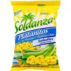 Soldanza Plantain Chips Lightly Salted 15g