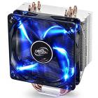 DEEPCOOL, GAMMAXX 400, CPU Air Cooler with 4 Heatpipes, 120mm PWM Fan and Blue LED for Intel/AMD CPUs (AM4 Compatible)