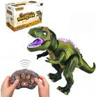 Tuko Remote Conctrol Jurassic World Dinosaur Toys LED Light Up Walking and Roaring Realistic t rex Dinosaur Toys for 3-12 Years Old Boys and Girls (RC Dino)